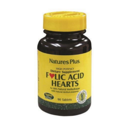 Folic Acid Hearts 90 comp