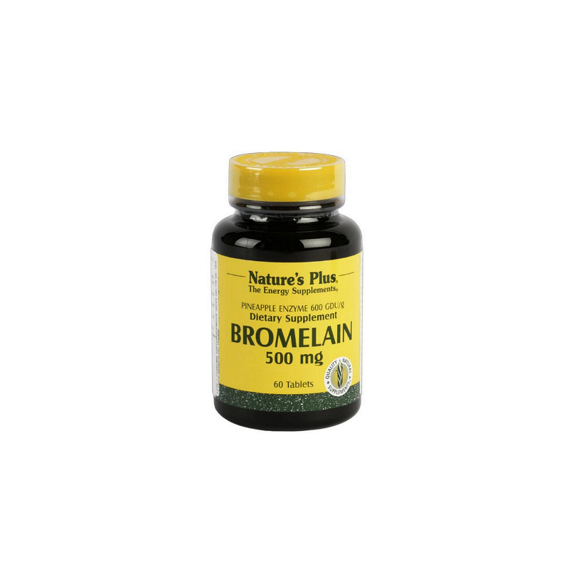 Bromelaína 500 mg 60 comp