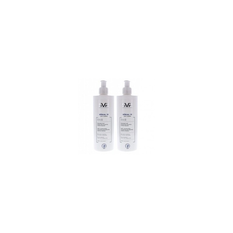 DUO XÉRIAL 10 Leche Corporal 2x400ml