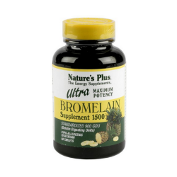 Ultra Bromelaína 1500 mg 60 comp