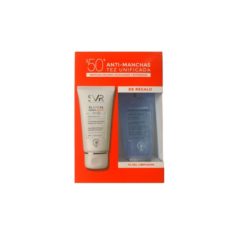 SET CLAIRIAL SPF50 50ml + Physiopure Gel 50ml