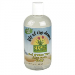 Gel hidratante (Gelly) de Aloe Vera 99% 360 ml