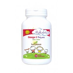 Omega 3 peques 120 perlas masticables Sabor Limon