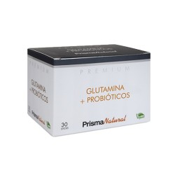 GLUTAMINA + PROBIÓTICO 30 sticks