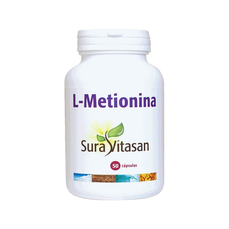 L-Metionina 500 mg  50 cap