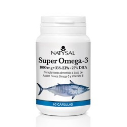 SUPER OMEGA 3  1.000 mg.  ( 35% EPA - 25% DHA ) 60 caps