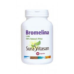 Bromelina 2.400 90 caps 500 mg