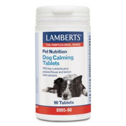 PET NUTRITION dog calming  tablets  90 compr