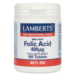 ACIDO FOLICO 400 mcg 100 caps