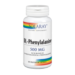 DL-PHENYLALANINE 500 mg  60 capsulas vegetales