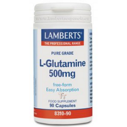 L-GLUTAMINA 500 mg 90 caps