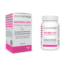 Natural DHA Embarazo y Lactancia 240 perlas