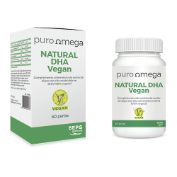 Natural DHA Vegan 60 perlas