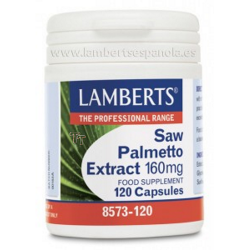 EXTRACTO DE SAW PALMETTO 160 mg 120 caps