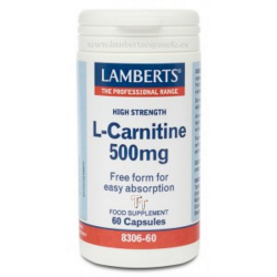 L-CARNITINA 500 mg 60  caps