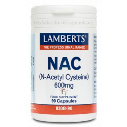 NAC (N Acetil Cisteina) 600 mg 90 caps